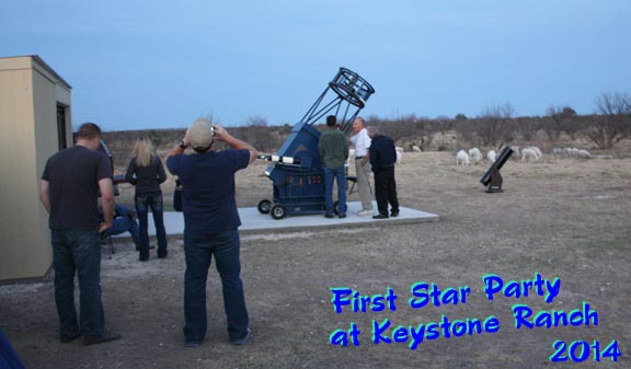 First Star Party at Keystone Ranch
